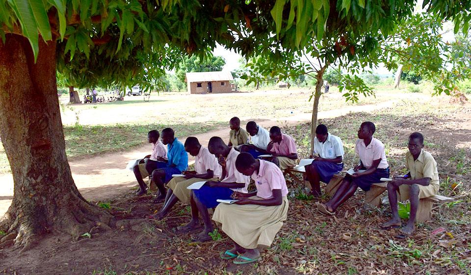 Die bestehenden Klassenzimmer